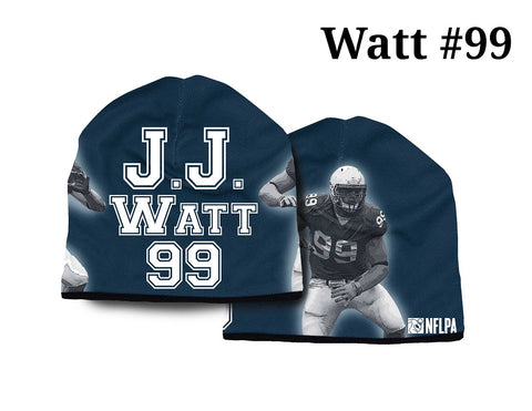 Houston Texans Beanie Lightweight JJ Watt Design - American Mills