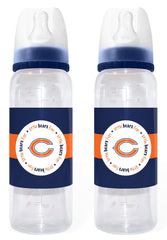 Chicago Bears Baby Bottle 2 Pack - Baby Fanatic