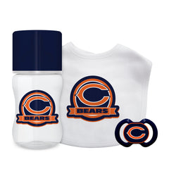 Chicago Bears Baby Gift Set 3 Piece - Baby Fanatic