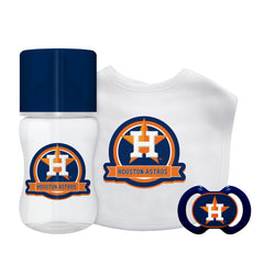 Houston Astros Baby Gift Set 3 Piece - Baby Fanatic