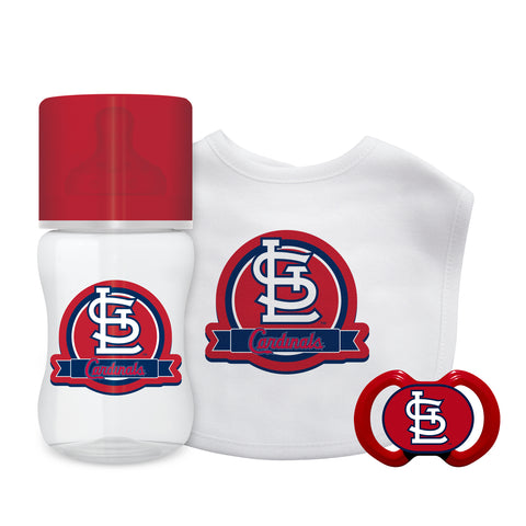 St. Louis Cardinals Baby Gift Set 3 Piece - Baby Fanatic