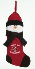 Tampa Bay Buccaneers 22'' Snowman Stocking - SC Sports