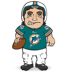 Miami Dolphins Dancing Musical Halfback - SC Sports