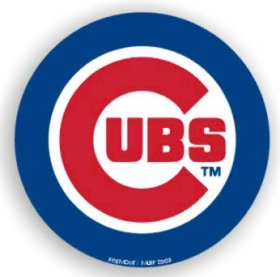 Chicago Cubs 12'' Car Magnet - Fremont Die