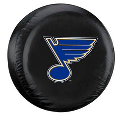 St. Louis Blues Black Tire Cover - Standard Size - Fremont Die