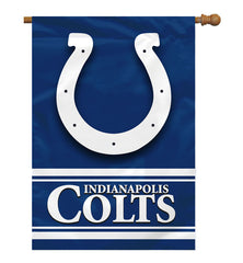 Indianapolis Colts Banner 28x40 2 Sided - Fremont Die