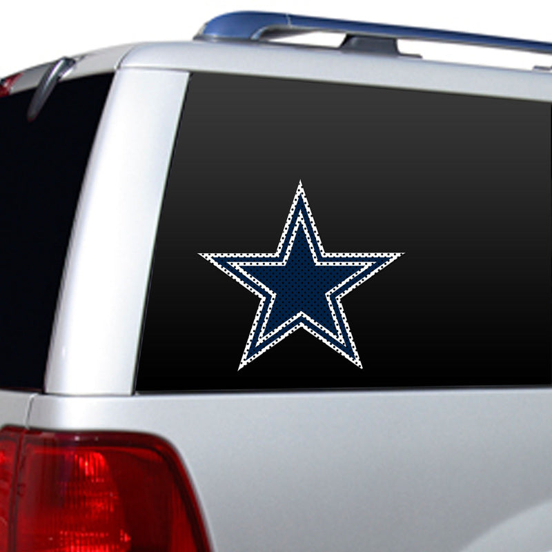 Dallas Cowboys Large Die-Cut Window Film - Fremont Die