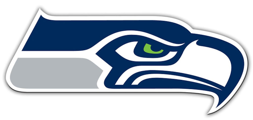 Seattle Seahawks 12'' Logo Car Magnet - Fremont Die