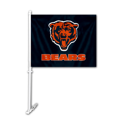 Chicago Bears Car Flag - Fremont Die