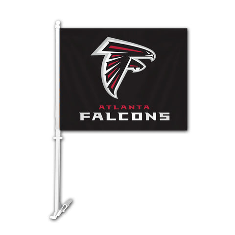 Atlanta Falcons Car Flag - Fremont Die
