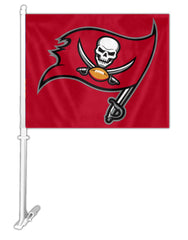 Tampa Bay Buccaneers Car Flag - Fremont Die