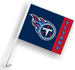 Tennessee Titans Car Flag - Fremont Die