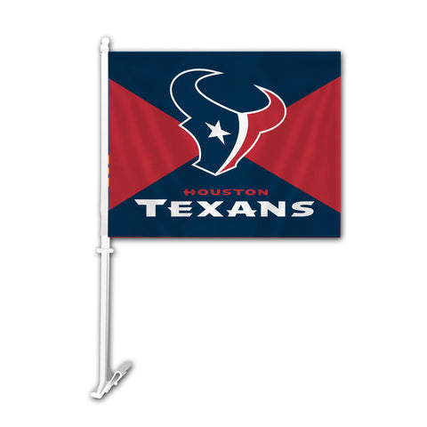 Houston Texans Car Flag - Fremont Die