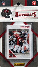 Tampa Bay Buccaneers 2011 Score Team Set - C & I Collectables