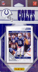 Indianapolis Colts 2011 Score Team Set - C & I Collectables