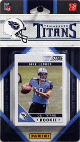 Tennessee Titans 2011 Score Team Set - C & I Collectables