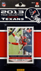 Houston Texans 2013 Score Team Set - C & I Collectables