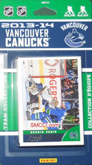 Vancouver Canucks Score Team Set - 2013-14 - C & I Collectables