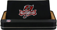 Tampa Bay Buccaneers Checkbook Cover Embroidered Leather - Rico Industries