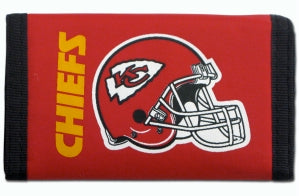 Kansas City Chiefs Wallet Nylon Trifold - Rico Industries