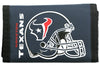 Houston Texans Wallet Nylon Trifold - Rico Industries