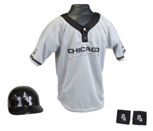 Chicago White Sox Baseball Helmet and Jersey Set - Franklin Sports