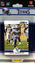 Tennessee Titans 2012 Score Team Set - C & I Collectables
