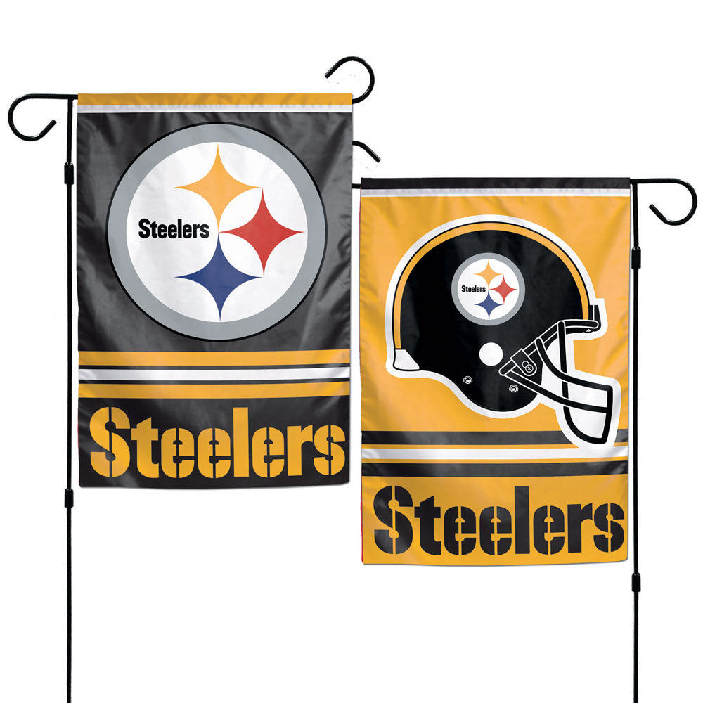 Pittsburgh Steelers Flag 12x18 Garden Style 2 Sided - Wincraft