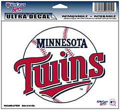 Minnesota Twins Decal 5x6 Ultra Color - Wincraft