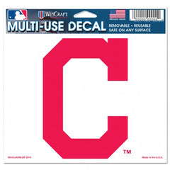 Cleveland Indians Decal 5x6 Multi Use Color - Wincraft
