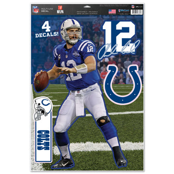 Indianapolis Colts Andrew Luck Decal 11x17 Multi Use - Wincraft