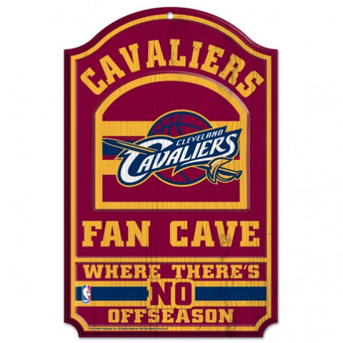Cleveland Cavaliers 11x17 Wood Sign - Fan Cave - Wincraft