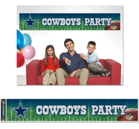 Dallas Cowboys Banner 12x65 Party Style - WINCRAFT INC.