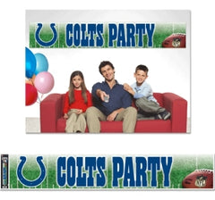 Indianapolis Colts Banner 12x65 Party Style - WINCRAFT INC.