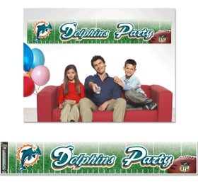 Miami Dolphins Banner 12x65 Party Style - WINCRAFT INC.