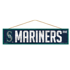 Seattle Mariners Sign 4x17 Wood Avenue Design - Wincraft, Inc.