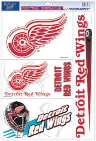 Detroit Red Wings Decal 11x17 Ultra - Wincraft