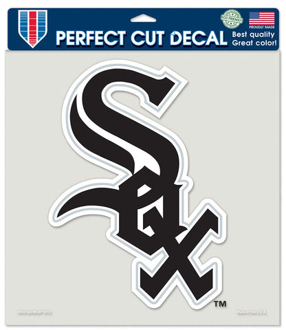 Chicago White Sox Decal 8x8 Die Cut Color - Wincraft