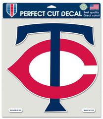 Minnesota Twins Decal 8x8 Die Cut Color - Wincraft