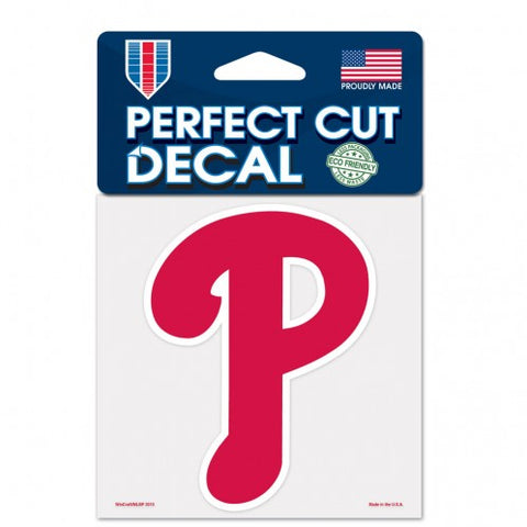 Philadelphia Phillies Decal 4x4 Perfect Cut Color - Wincraft