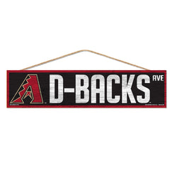 Arizona Diamondbacks Sign 4x17 Wood Avenue Design - Wincraft, Inc.