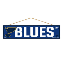 St. Louis Blues Sign 4x17 Wood Avenue Design - Wincraft, Inc.