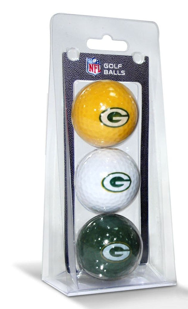 Green Bay Packers 3 Pack of Golf Balls - Team Golf