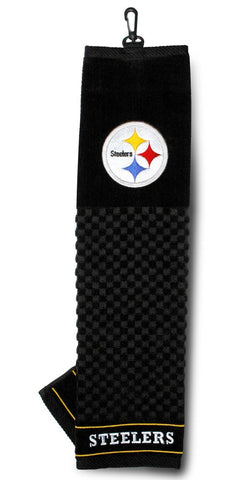 Pittsburgh Steelers 16''x22'' Embroidered Golf Towel - Team Golf