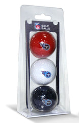 Tennessee Titans 3 Pack of Golf Balls - Team Golf