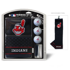 Cleveland Indians Golf Gift Set with Embroidered Towel - Team Golf