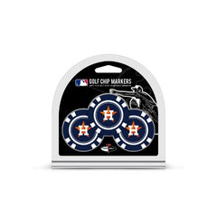 Houston Astros Golf Chip with Marker 3 Pack - Team Golf