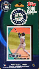 Seattle Mariners 2010 Topps Team Set - C & I Collectables