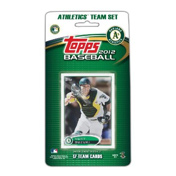 Oakland Athletics 2012 Topps Team Set - C & I Collectables