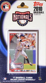 Washington Nationals 2010 Topps Team Set - C & I Collectables